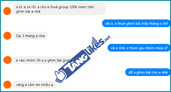 dich vu cho thue group facebook