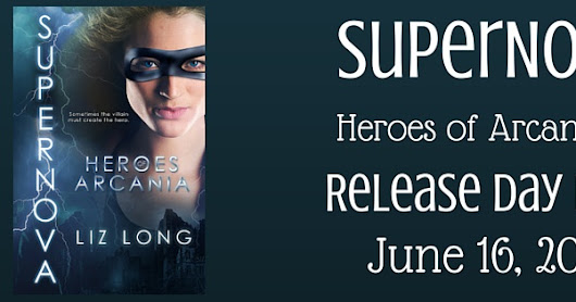 What's Beyond Forks?: Release Day Review! SuperNova by Liz Long