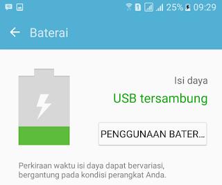 Pilih Penggunaan Bateri