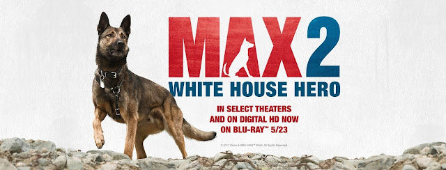 Max 2 White House Hero Blu-ray combo pack giveaway