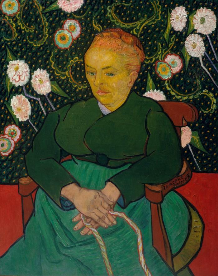 Женщина, качающая колыбель; Августин-Аликс Пеллико Рулен, 1851–1930. Vincent van Gogh