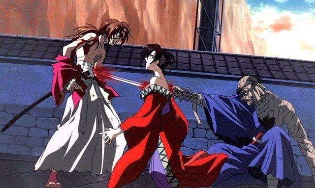 yumi's death at the hands of shishio