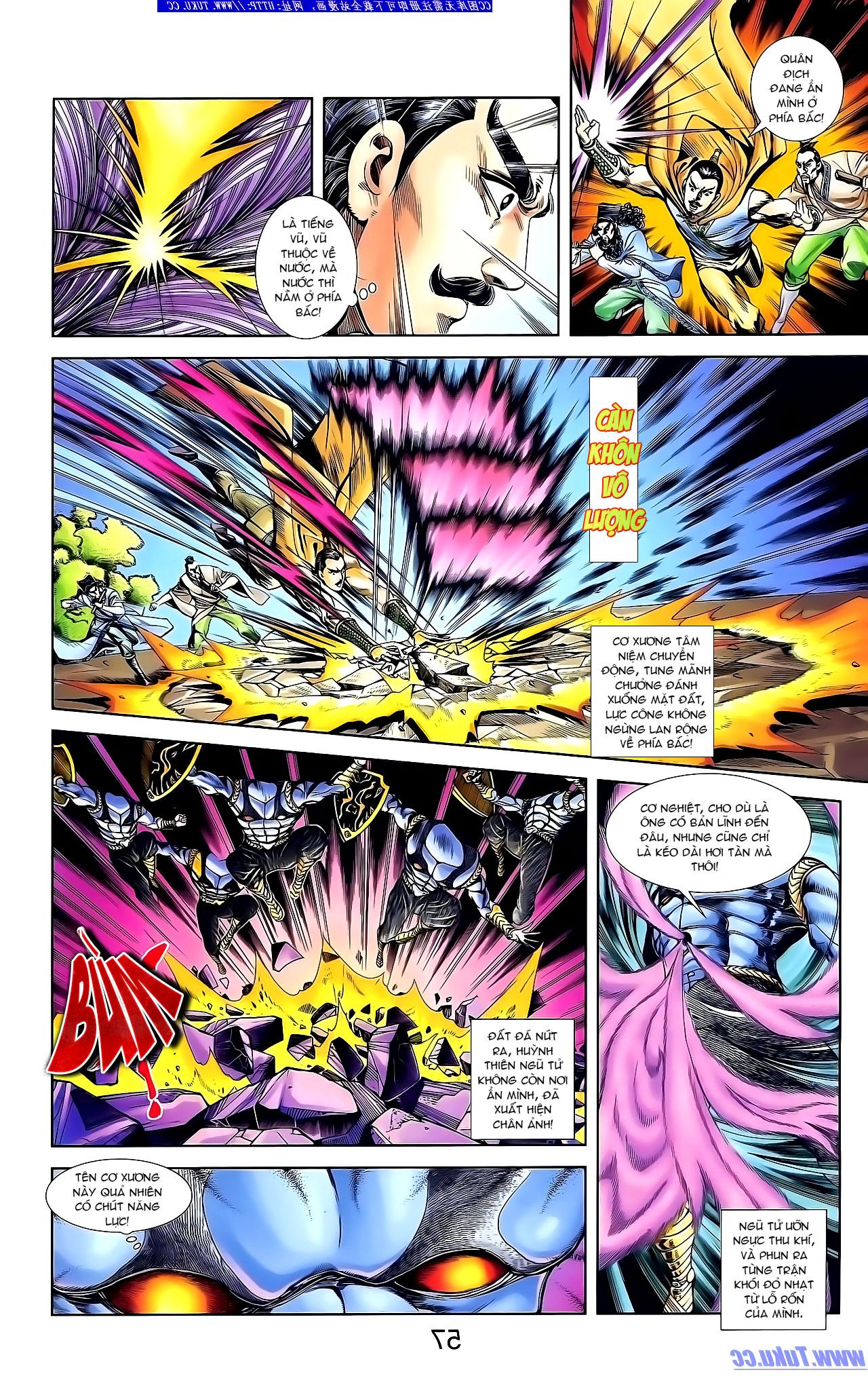 Cơ Phát Khai Chu Bản chapter 134 trang 9