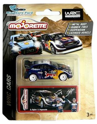 Majorette, WRC CARS