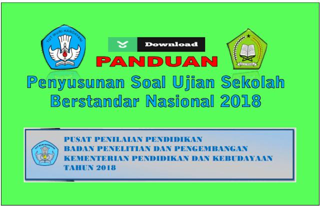 Download Panduan Penyusunan Soal USBN Tahun 2018