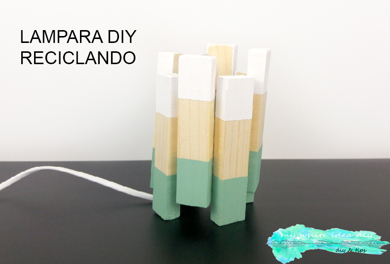 LAMPARA DIY RECICLANDO