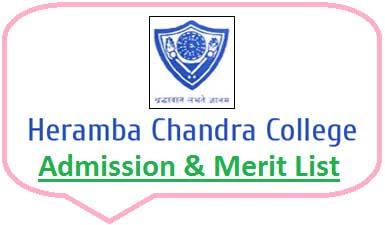 Heramba Chandra College Merit List