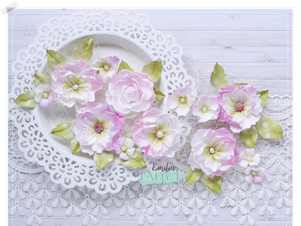 Paper Flowers & Video Tutorial