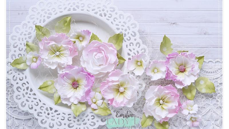 Paper Flowers & Video Tutorial