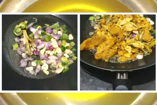 cara membuat minyak mie ayam