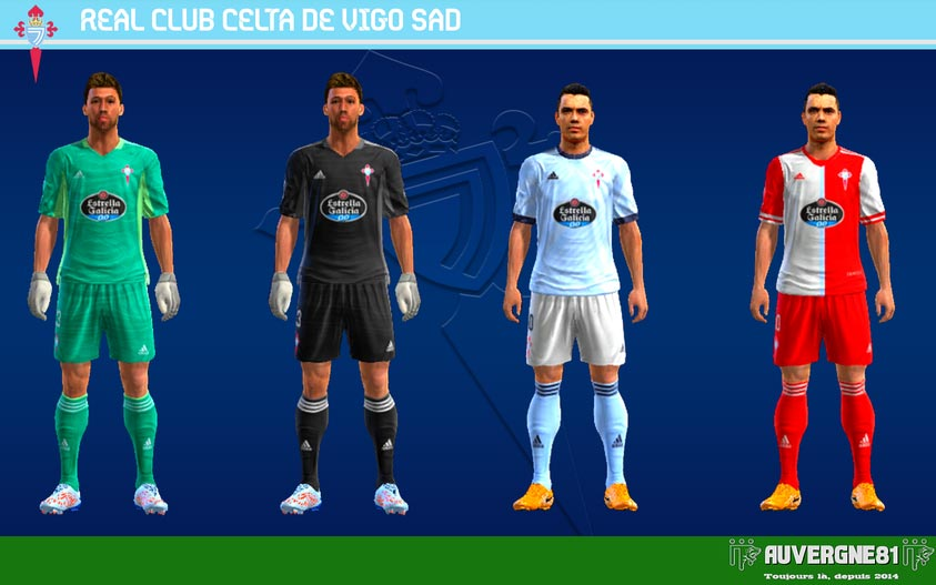 Kits Celta Vigo 2021-2022 For PES 2013