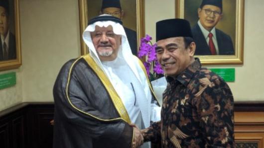 Tak Bahas Habib Rizieq, Menag-Dubes Saudi Bicara Permudah Layanan Haji