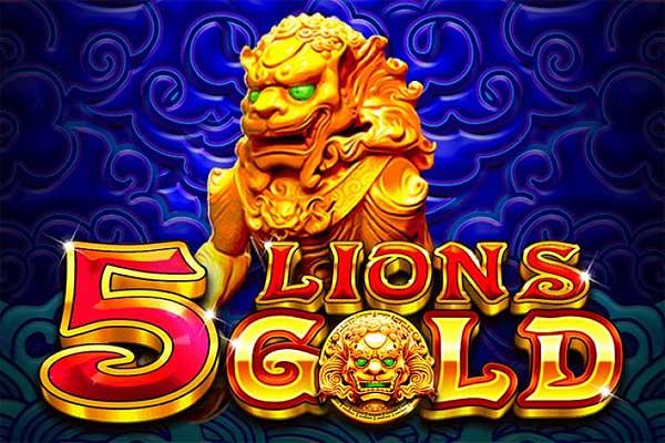 Main Gratis Slot Demo 5 Lions Gold (Pragmatic Play)