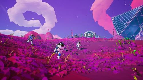 Astroneer có gam màu tươi vui, sặc sỡ, sử dụng engine Unreal 4