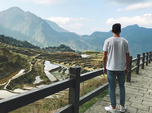 5 Sawah Terasering Terindah Di Benua Asia