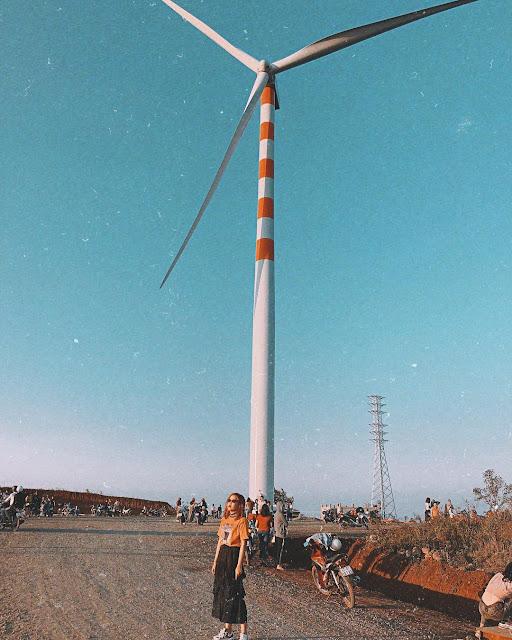 Cánh đồng quạt gió Đắk Lắk