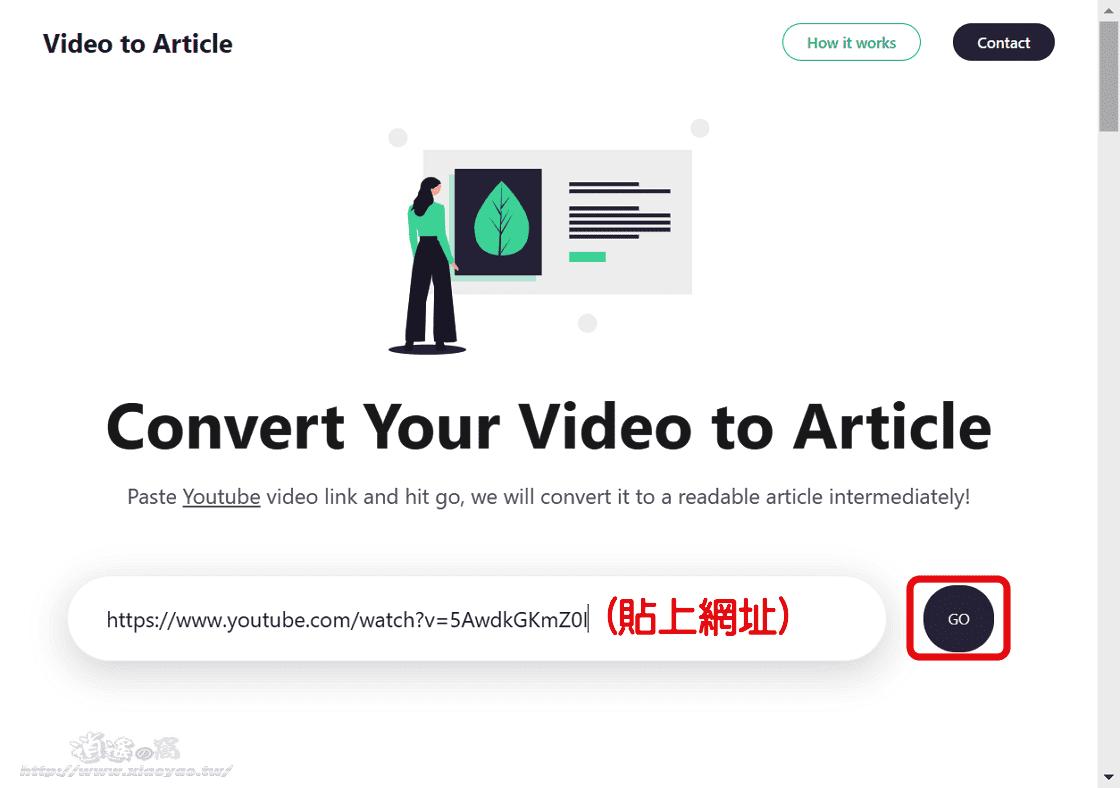 Video to Article 播放 YouTube 影片可同步檢視字幕