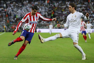 Super Cup: Real Madrid Beat Atletico Madrid On Penalties To Win Title
