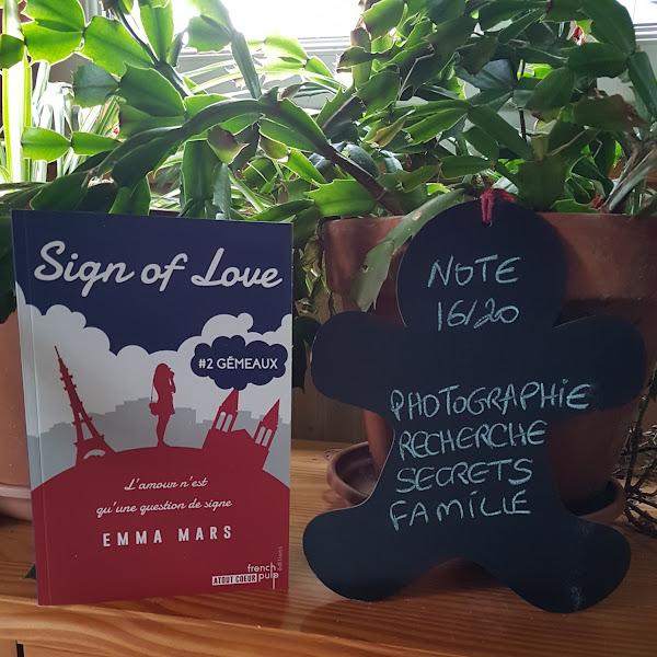 Sign of Love, tome 2 : Gémeaux de Emma Mars