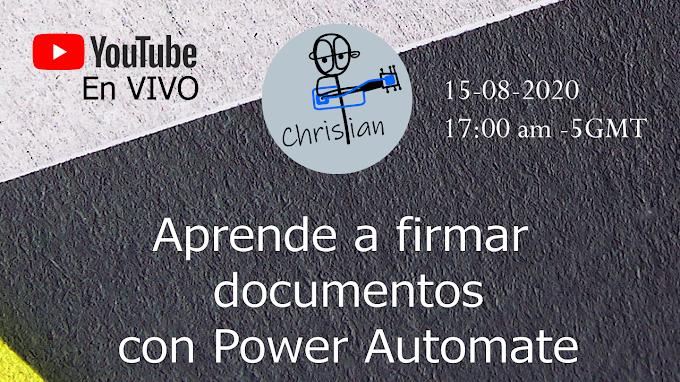 Aprende a firmar documentos con Power Automate
