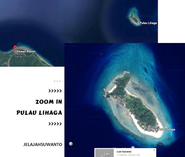 Pulau Lihaga sekitar 15 menit dari  Kinaari Resort | ©jelajahsuwanto