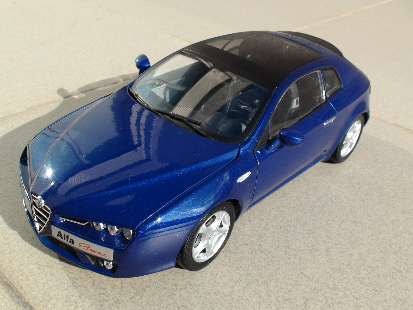 Pseudo Cars: Alfa Romeo Brera