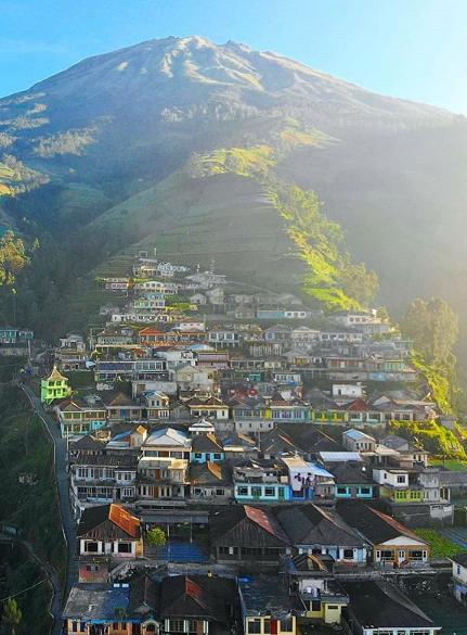 Pesona Desa Dusun Butuh Namache Bazaar Nepal | Magelang