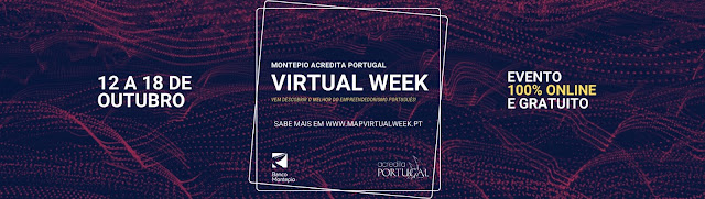 Montepio Acredita Portugal Virtual Week: uma semana a discutir o Empreendedorismo pós- Covid-19