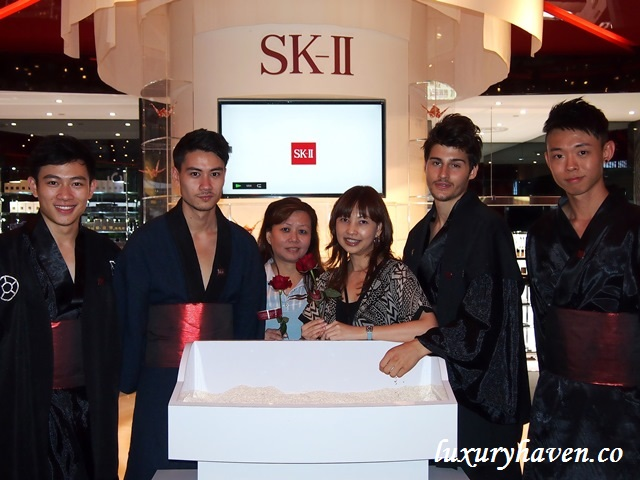 tangs sk ii pitera house media event