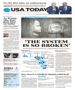 usatoday, usa today magazine 20 October 2020, usa today magazine, usa today news, free pdf magazine download.