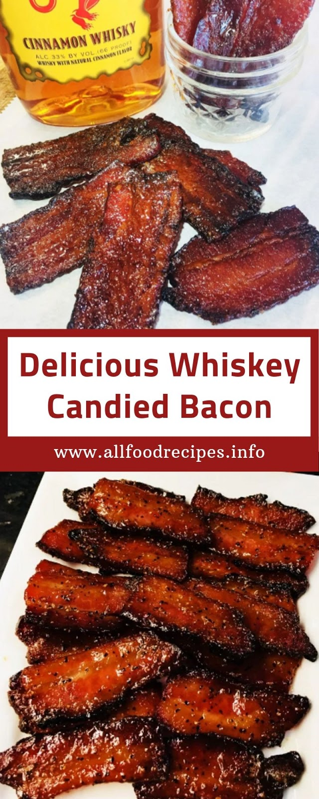 Delicious Whiskey Candied Bacon