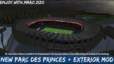 New Parc des Princes + Exterior