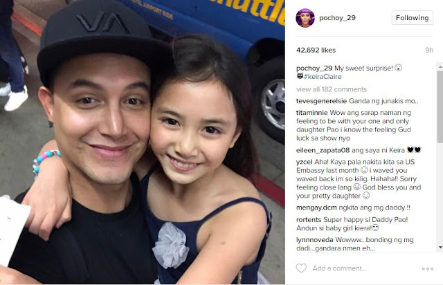 LOOK HERE: Paolo Ballesteros Gets a Surprise From Daughter Keira When He Arrived In The U.S.