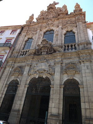 FAchada da Igreja da Misericórdia do Porto