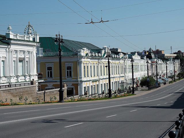 Омск, улица Ленина (Omsk, Lenin Street)