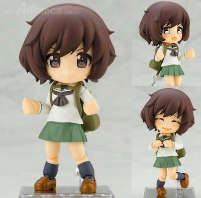 Figura Yukari Akiyama School Uniform Ver. Cu-poche Girls und Panzer the Movie
