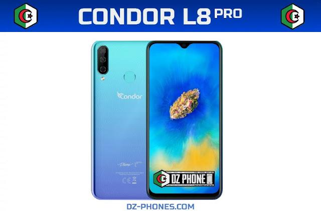سعر كوندور L8 Pro في الجزائر و مواصفاته Condor L8 Pro Prix Algérie