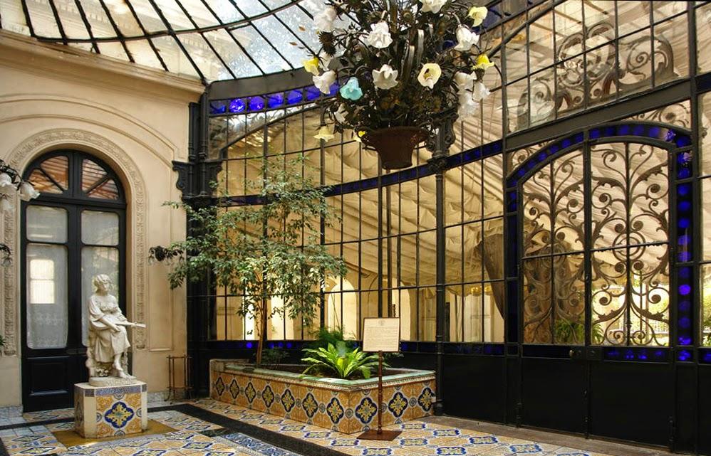 El poder del arte el museo palacio cousi o for Jardin de invierno sa