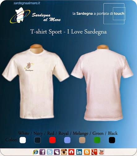 """T-shirts con logo """"Sardegna al Mare"""" Classico"""