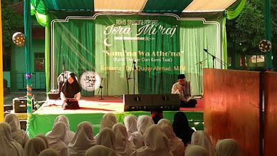 Peringatan Isra' Mikraj Tahun 2018 di SMAN 110