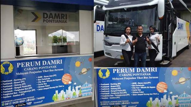 Damri Pontianak Kuching, Harga Tiket Murah Untuk Para Backpacker