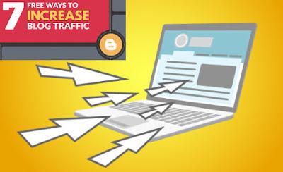 7 Cara Blogger Meningkatkan Traffic Tinggi  Dengan Cepat