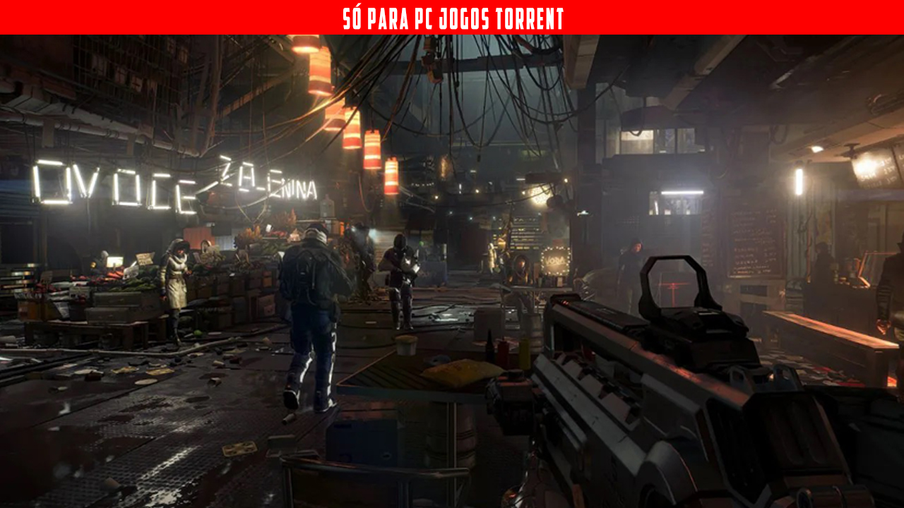 Deus Ex Mankind Divided - PC Torrent