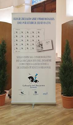 sello, matasellos, Desarme, Oviedo, 2020, exposición