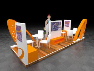 Booth pameran Aeon Credit Service