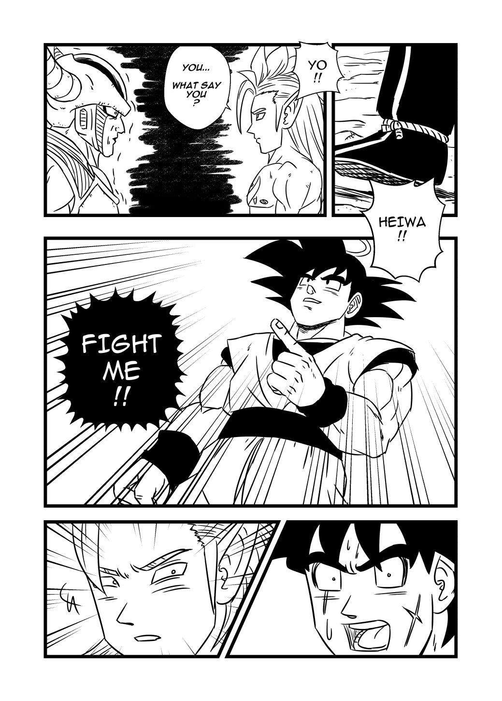 Dragonball Z, Chapter 28 - Dragonball Z Manga Online