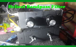 Helical Bandpass Filter atau Cavity Filter