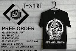 T-Shirt keren motive jawa gunungan kode 001