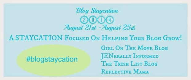 Blogging Staycation