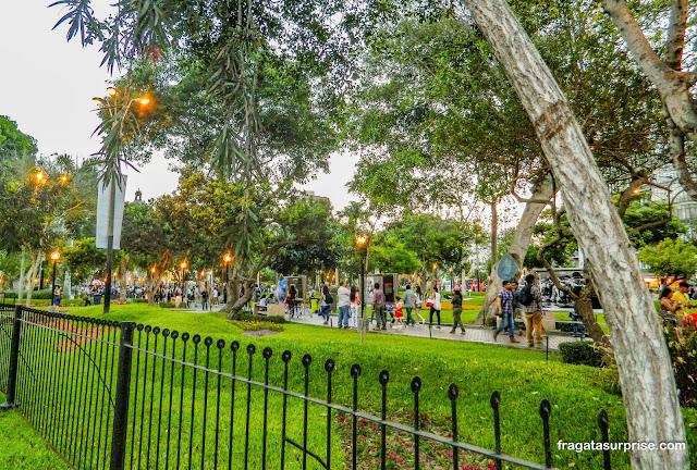 Parque Kennedy, Lima, Peru